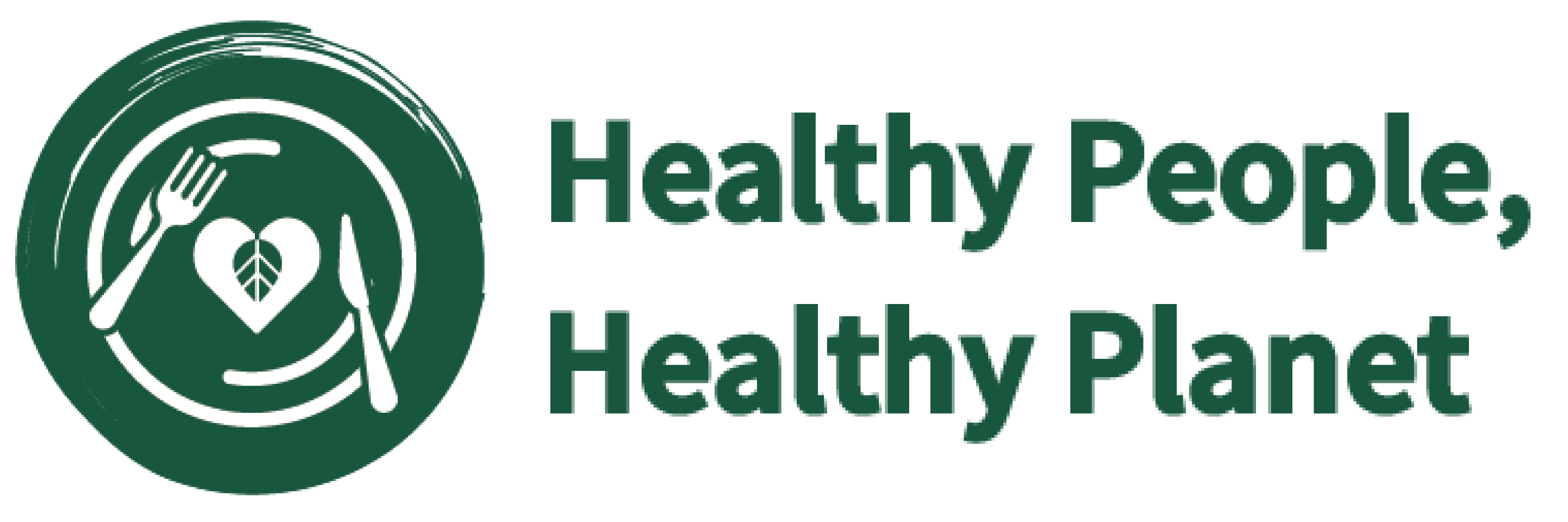 Healthy People, Healthy Planet logo